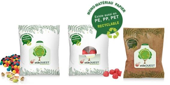 U'pn mono-materiau Etik Ouest Packaging