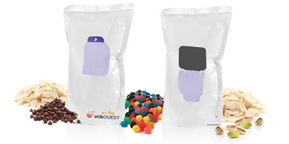 Etik OUEST PACKAGING- emballage souple refermable etik ouest packaging / packaging