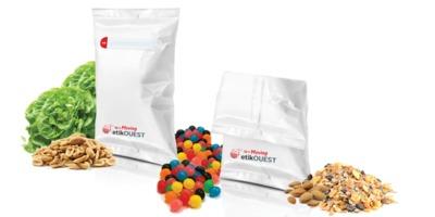 etik ouest packaging étiquette adhésive sachet alimentaire FLOW PACK-Up'n MOVING BAG / labels manufacturer
