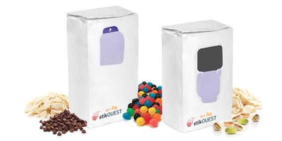 Etik Ouest packaging - ouverture fermeture packagingFOND PLAT-UP'N BAG / packaging