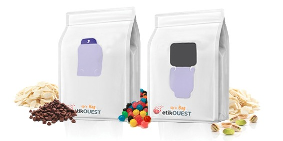 Etik OUEST packaging - emballage souple ouverture facile QUATTROSEAL Up'n Bag / packaging