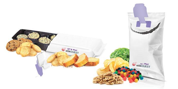 Etik OUEST PACKAGING - système d'ouverture d'emballage / food packaging labels