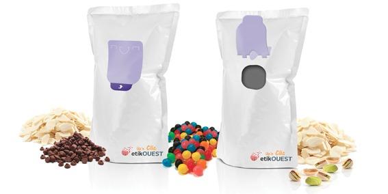 Etik OUEST PACKAGING - emballage souple refermable / food label