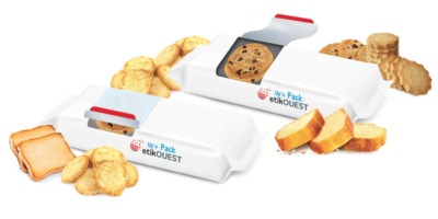 etiquette ouverture emballage alimentaire Up'n Pack