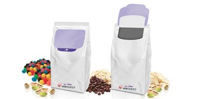 Up'n MAXI etik ouest etiquette repositionnable ouverture fermeture facile / food packaging labels