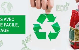 etiquette ouverture facile le recyclage Etik Ouest Packaging