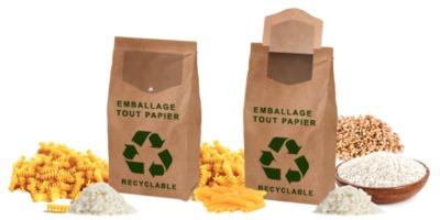 Up'n Maxi Paper, etiquette ouverture fermeture facile, Etik Ouest Packaging